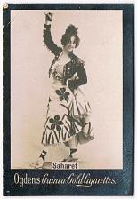 Buy Ogden's Guinea Gold Cigarettes Tobacco Card Saharet Vintage