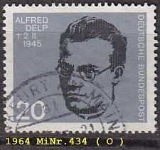 Buy GERMANY BUND [1964] MiNr 0434 ( O/used )
