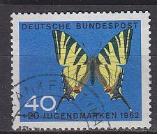Buy GERMANY BUND [1962] MiNr 0379 ( O/used ) Schmetterlinge