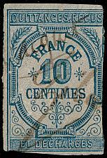 Buy France Quittances Recus Revenue Stamp; Used |FRAREV-11XDP