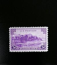 Buy 1937 3c Puerto Rico, La Fortaleza (The Fortress) Scott 801 Mint F/VF NH