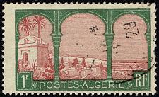 Buy Algeria #58 Marabout of Sidi Yacoub; Used (1Stars) |ALG0058-04XRS