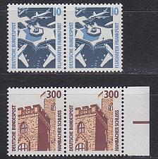 Buy GERMANY BUND [1988] MiNr 1347-48 A 2er ( **/mnh ) [01] Bauwerke aus Bogen