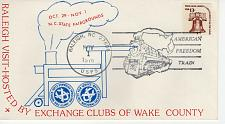 Buy AMERICAN FREEDOM TRAIN, RALEIGH, NC 1976 FDC10474