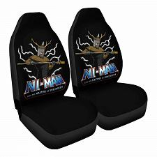Buy Masters of shrubb Car Seat Covers Nerdy Geeky Pop Culture Set of 2 Front Seat