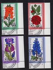 Buy GERMANY BERLIN [1976] MiNr 0524-27 ( O/used ) [01] Pflanzen Eckrand FormNr