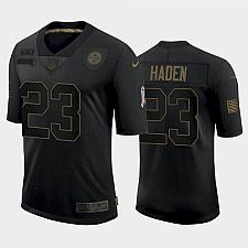 Buy Men's Steelers Joe Haden 2021 Salute to Service Limited Jersey - Black