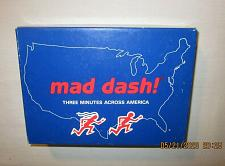 Buy 1995 Geography Game Mad Dash! Three Minutes Across America Complete