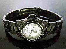 Buy Invicta Women 0.37CT Diamond Swiss Quartz Stainless Steel Watch black case