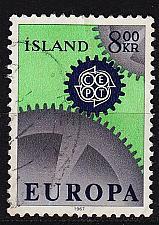 Buy ISLAND ICELAND [1967] MiNr 0410 ( O/used ) CEPT
