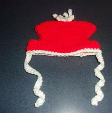 Buy Brand New Crocheted Red White Dog Hat SMALL Dogs For Dog Rescue Charity