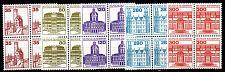Buy GERMANY BUND [1982] MiNr 1139-43 ( **/mnh ) [01] Bauwerke 4er