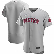 Buy Boston Red Sox Gray Road Authentic Team Jersey