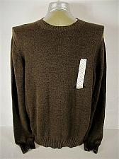 Buy ST JOHNS BAY mens XL LONG SLEEVE BROWN 100% COTTON CREW NECK SWEATER (S)P