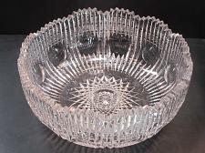 "Buy abp cut glass bowl 9"""