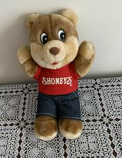 Buy Advertising Collectible Shoneys Bear Stuffed Plush Toy 10 inch For Dog Charity