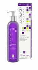 Buy Andalou Naturals Apricot Probiotic Cleansing Milk, 6 oz., with Resveratrol and