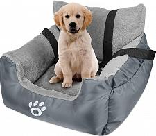 Buy FAREYY Dog Car Seat for Small Dogs or Cats, Pet Booster Seat Travel Dog Car Bed!