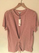 Buy $39.50 Lucky Brand T Women Lace Corset Tee Size XL