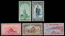 Buy New Zealand #274-278 Canterbury Set of 5; Unused (2Stars)  NWZ0278set-01