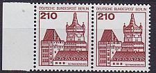 Buy GERMANY BERLIN [1978] MiNr 0589 2er ( **/mnh ) Burgen Schlösser