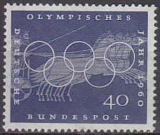 Buy GERMANY BUND [1960] MiNr 0335 ( **/mnh ) Olympiade