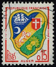 Buy France #903 Arms of Algiers; Used (4Stars) |FRA0903-02XDP