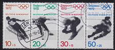 Buy GERMANY BUND [1971] MiNr 0684-87 Zdr ( O/used ) [01] Olympiade