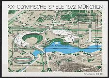 Buy GERMANY BUND [1972] MiNr 0723-26 Block 7 ( **/mnh ) Olympiade