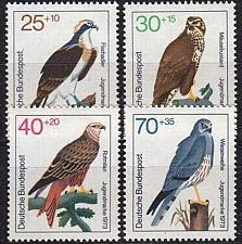 Buy GERMANY BUND [1973] MiNr 0754-57 ( **/mnh ) Vögel