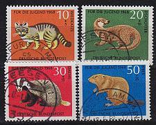 Buy GERMANY BUND [1968] MiNr 0549-52 ( O/used ) Tiere