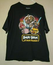 Buy Fifth Sun Angry Birds Star Wars Graphic T Shirt - Size XL