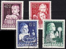 Buy ÖSTERREICH AUSTRIA [1949] MiNr 0929-32 ( O/used )