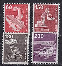 Buy GERMANY BERLIN [1978] MiNr 0582-86 ( **/mnh ) Technik