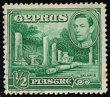 Buy Cyprus #144 Columns at Salamis; Used (3Stars) |CYP0144-06XRS