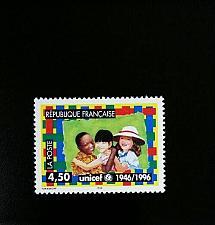 Buy 1996 France UNICEF, 50th Anniversary Scott 2543 Mint F/VF NH