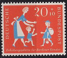 Buy GERMANY BUND [1957] MiNr 0251 ( **/mnh )