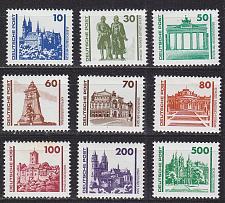 Buy GERMANY DDR [1990] MiNr 3344-52 ( **/mnh ) Architektur