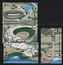 Buy GERMANY BUND [1972] MiNr 0723-26 ( **/mnh ) Olympiade