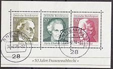 Buy GERMANY BUND [1969] MiNr 0596-98 Block 5 ( O/used )