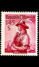 Buy ÖSTERREICH AUSTRIA [1948] MiNr 0915 II xa (mit) ( */mh ) Trachten