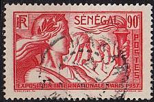 Buy SENEGAL [1937] MiNr 0168 ( O/used )