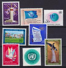 Buy UNO Genf Geneva Genève [1969] MiNr 0001-08 ( **/mnh )