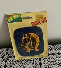 Buy New Vintage 1978 Joy Patch Iron On Embroidered Patch 4 In Horse Murphys Store