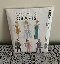 Buy McCalls Crafts Pattern M6258 Clothing For 11.5 Inch Fashion Doll Complete Cut