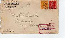 Buy THE NEWS, NEW YORK NEW YORK 1924 FDC7969