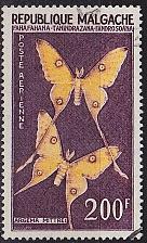 Buy MADAGASKAR MADAGASCAR [1960] MiNr 0459 ( O/used ) Schmetterlinge