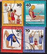 Buy GERMANY BUND [1976] MiNr 0882-85 ( O/used ) Olympiade