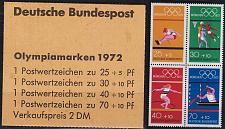 Buy GERMANY BUND [Markenheft] MiNr 17 ( **/mnh ) Olympiade