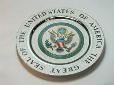 Buy The great seal of the United states of america plate